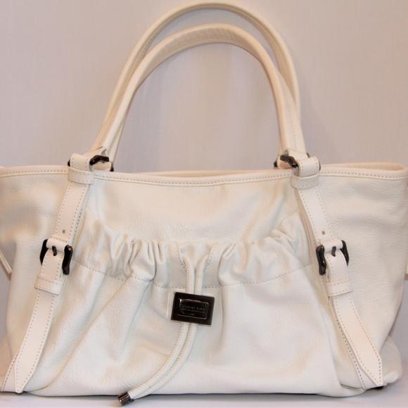 Burberry Dallinger Leather Satchel Handbags - Burberry Dallinger White Leather Satchel